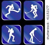 sports  icon set. vector...   Shutterstock .eps vector #41152177