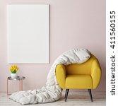 concept of comfortable interior ...   Shutterstock . vector #411560155