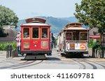 san francisco  california  usa  ... | Shutterstock . vector #411609781