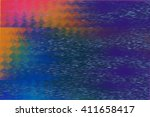 vhs color glitch texture | Shutterstock . vector #411658417