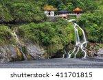 changchun temple  eternal... | Shutterstock . vector #411701815