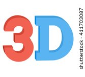 3d three dimensional button...