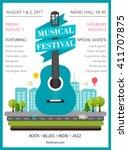 music festival poster or flyer