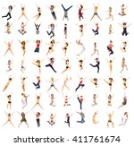 bright group hurray to us  | Shutterstock . vector #411761674