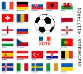 all flags of national teams of...