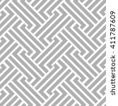 abstract geometric pattern with ... | Shutterstock . vector #411787609