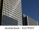 Generic Office Building in a big city. - stock photo