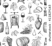 collection of vector images of... | Shutterstock .eps vector #411829165