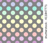 Polka Dot Colors. Vector...