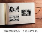 mothers day composition. photo... | Shutterstock . vector #411859111