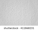 Small photo of White woodchip wallpaper, ingrain, texture