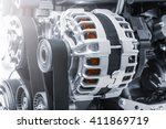 power generator | Shutterstock . vector #411869719