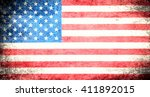 flag of usa | Shutterstock . vector #411892015