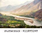 A Famous Bend Of Yangtze River...