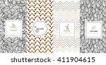 vector set of design elements...   Shutterstock .eps vector #411904615