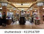 london   august 7   harrods... | Shutterstock . vector #411916789