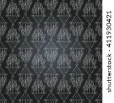 vector seamless pattern with... | Shutterstock .eps vector #411930421