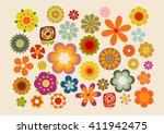 Vintage Flowers  60s 70s Part. 2