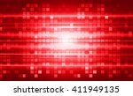 abstract speed lines background.... | Shutterstock .eps vector #411949135