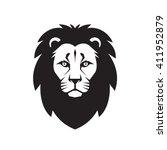 Lion Head   Vector Logo Sign...