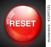 reset button  | Shutterstock .eps vector #411957151