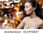 people  nightlife  technology... | Shutterstock . vector #411970837