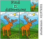 children games  find... | Shutterstock .eps vector #411976531