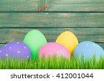 easter. | Shutterstock . vector #412001044