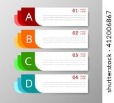 banners template design...   Shutterstock .eps vector #412006867