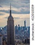 new york  usa   circa march... | Shutterstock . vector #412010359