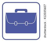 briefcase icon | Shutterstock .eps vector #412035607