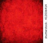 grunge red background texture   Shutterstock . vector #412036414