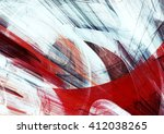 abstract red and white grunge... | Shutterstock . vector #412038265