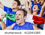 Supporters From Italy At...