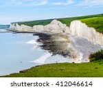 White Chalk Cliffs  Seven...
