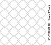 seamless lattice pattern.... | Shutterstock .eps vector #412059139