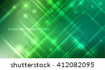 abstract vector sparkle... | Shutterstock .eps vector #412082095