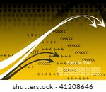 vector wave and stripes pattern ... | Shutterstock .eps vector #41208646
