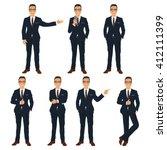 businessman | Shutterstock .eps vector #412111399