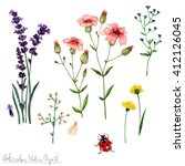 Watercolor Nature Clipart  ...