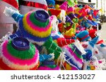 Mexican Party Pinatas Decorated ...