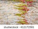 leafs in fall | Shutterstock . vector #412172581