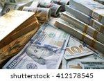 money   gold stock photo