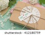 gift | Shutterstock . vector #412180759