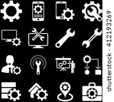options and service tools icon... | Shutterstock .eps vector #412193269