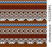 boho seamless pattern with...   Shutterstock .eps vector #412225891