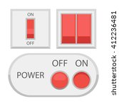 vector set of switches  power...