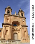 the church of our lady of... | Shutterstock . vector #412239865
