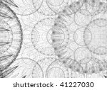 black and white background. | Shutterstock . vector #41227030