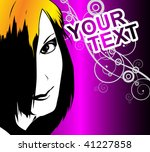 template flyer for party   Shutterstock .eps vector #41227858